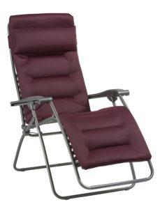 Fauteuil réglable relax Lafuma Air Comfort LFM2038-6185 -1 position dépliée