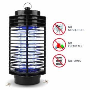 Iweed lampe anti moustique photocatalyseur intérieur et extérieur ampoule puissante -1