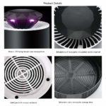 Leeny USB lampe anti moustique photocatalyseur d'intérieur - 5 ventilateur