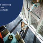 Leifheit Kit nettoyeur aspirateur à vitres Dry & Clean-4