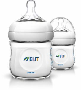 Philips Biberon Avent - SCF69027 - Lot de 2 Biberons Natural 125ml-1