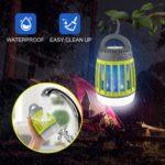 WloveTravel lampe anti moustique UV portable d'extérieur et de voyage - camping - 4