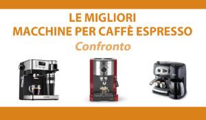 confronto macchine per caffe espresso