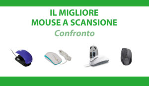 confronto mouse a scansione