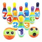 YIMORE jeu de quilles coloré