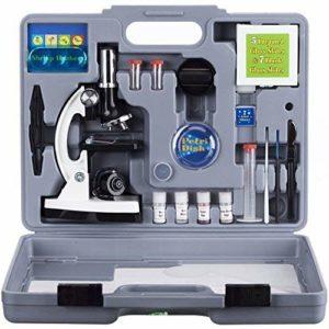 AmScope M30-ABS-KT2-W Beginner Microscope Kit