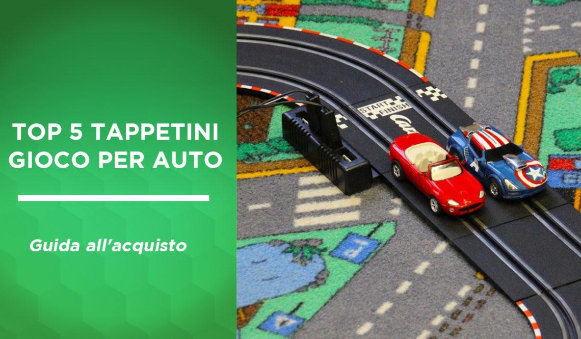 top 5 tappetini gioco per auto