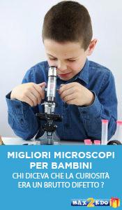 microscopi e bambino
