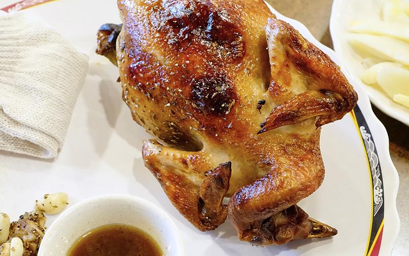 Meilleure rôtissoire verticale poulet entier