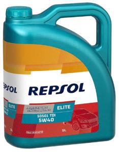 REPSOL Elite 50501 TDI 5W40 5L