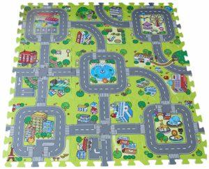 Y-BOA – tapis de sol Puzzle 9 pieces – circuits de route