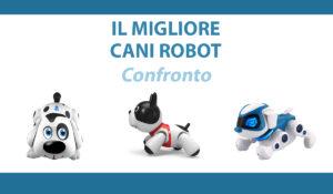 confronto cani robot